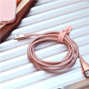 Just Mobile Zin Cable pink