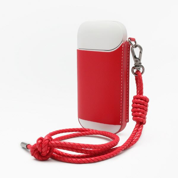 SLG Design Calf Skin Leather iQOS Case レッド
