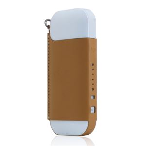 SLG Design Calf Skin Leather iQOS Case タン