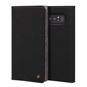stil Galaxy Note 8 WALLET STAND CASE ブラック