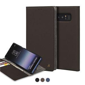 stil Galaxy Note 8 WALLET STAND CASE ブラウン
