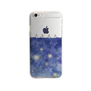 Dparks iPhone6/6s ソフトクリアケース 星取り