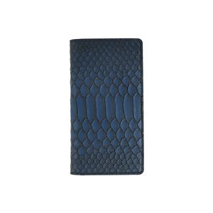 GAZE 多機種対応スライド式 手帳型ケース Matt Python Diary Mサイズ ブルー
