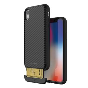 Matchnine iPhone XR CARDLA SLOT ブラックカーボン