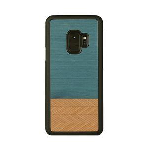 Man&Wood Galaxy S9 天然木ケース Denim