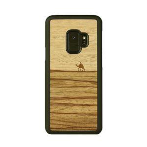 Man&Wood Galaxy S9 天然木ケース Terra