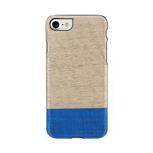 Man&Wood iPhone8/7 天然木ケース Dove ブラックフレーム
