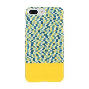 Man&Wood iPhone8Plus/7Plus 天然木ケース Yellow Submarine ホワイトフレーム