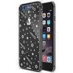 SG iPhone8/7 Clear Hard イルミネーションケース シューティングスター ディープブルー