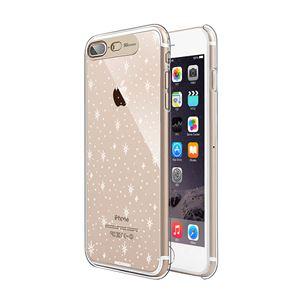 SG iPhone8Plus/7Plus Clear Hard イルミネーションケース ギャラクシーゴールド
