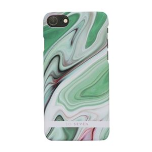 SO SEVEN iPhone 8/7 CARRARE MARBLE グリーン