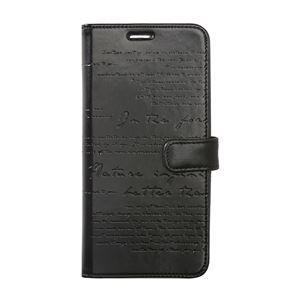 Zenus Galaxy Note 8 Lettering Diary ブラック 【NEOZN】