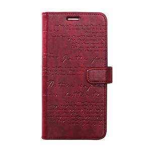 Zenus Galaxy Note 8 Lettering Diary レッド 【NEOZN】