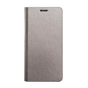 Zenus Galaxy Note 8 Metallic Diary シルバー 【NEOZN】