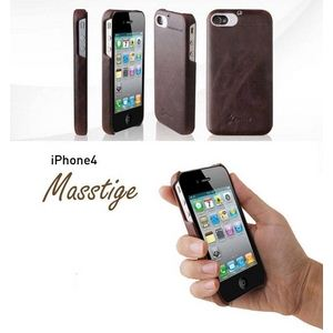Z206i4◆iPhone4S / iPhone4 対応ケース◆Masstige BAR -Vintage Red - 拡大画像