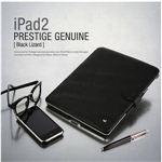 Z299iP2★本革 iPAD2ケース Prestige Genuine Black Lizard