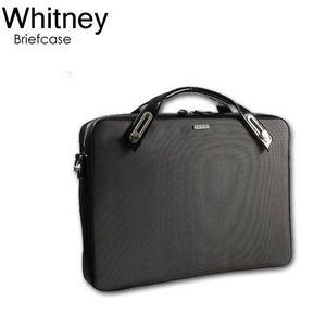 B6407G★ユニセックス仕様PC対応ブリーフケース ホイットニー(Whitney) グレー - 拡大画像