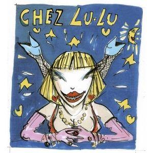 Chez lulu(シェ・ルル) プリントトート‐ブラックバタフライ