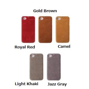 Z245i4★iPhone4S/iPhone4 対応ケース E`stime Bar 本革 Jazz Gray - 拡大画像