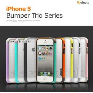 【iPhone5ケース】Walnutt Bumper Trio Art Card W1612i5 グリーン+ミント  h02
