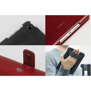 【iPad Mini ケース】★iPad Mini ケース★ワインレッド【バックバンド&スタンド付き】 Masstige Neo Classic Diary 自動on/off