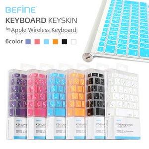BEFINE マック ワイヤレス用 キーボードカバー (日本語)-ブルースカイBF2353W h01