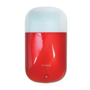 スマートフォンUV除菌器 Dr.カプセル レッド - 拡大画像