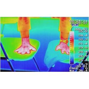 【おしりに汗をかかない】空調ざぶとん 涼風 エアクールクッションACアダプターセット ACC140 濃紺(AC電源タイプ)【2枚セット】