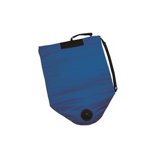 どこでも座クール ブルー 電池BOX仕様 空調ざぶとん - 拡大画像