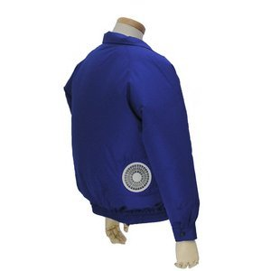 空調服 ポリエステル製長袖ブルゾン P-500BN 【カラー:シルバー  サイズ LL】