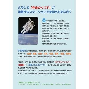 「宇宙のくつ下」シリーズ  Air Fit(エアフィット)ルームシューズ ベージュ Lサイズ f04