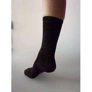 【特許取得済】消臭靴下「宇宙のくつ下」ノーマルタイプ ブラック F - 拡大画像