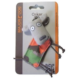 【ペット用品】ドイツ製次世代型犬用 おもちゃ メジャードッグ オスカー・キーホルダー - 拡大画像
