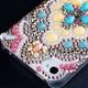 iphone4&4S デコケース ハンドメイド エスニック スワロフスキー - 縮小画像5