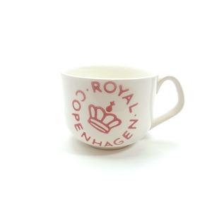 ロイヤルコペンハーゲン ROYAL COPENHAGEN 【ニュー シグネチャー】スープカップ ピンク - 拡大画像