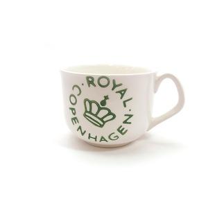 ロイヤルコペンハーゲン ROYAL COPENHAGEN 【ニュー シグネチャー】スープカップ グリーン - 拡大画像