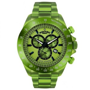 ROMAGO腕時計MEN RM050-0405AL グリーン h01