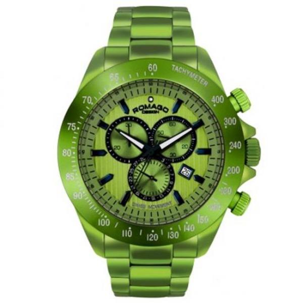 ROMAGO腕時計MEN RM050-0405AL グリーンf00