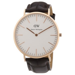Daniel Wellington ダニエルウェリントン York CLASSIC LADY 36MM Rose gold  h01
