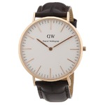 Daniel Wellington ダニエルウェリントン York CLASSIC LADY 36MM Rose gold