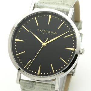 TOMORATOKYO(トモラトウキョウ)腕時計日本製T-1601-GBKGY