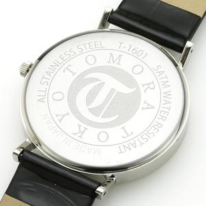 TOMORA TOKYO(トモラトウキョウ) 腕時計 日本製 T-1601-SBKBK f05