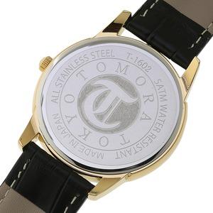 TOMORA TOKYO(トモラトウキョウ) 腕時計 日本製 T-1602-GDBK