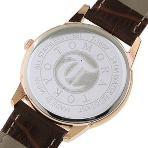 TOMORA TOKYO(トモラトウキョウ) 腕時計 日本製 T-1602-PGWH