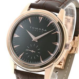 TOMORA TOKYO(トモラトウキョウ) 腕時計 日本製 T-1602-PGBK - 拡大画像