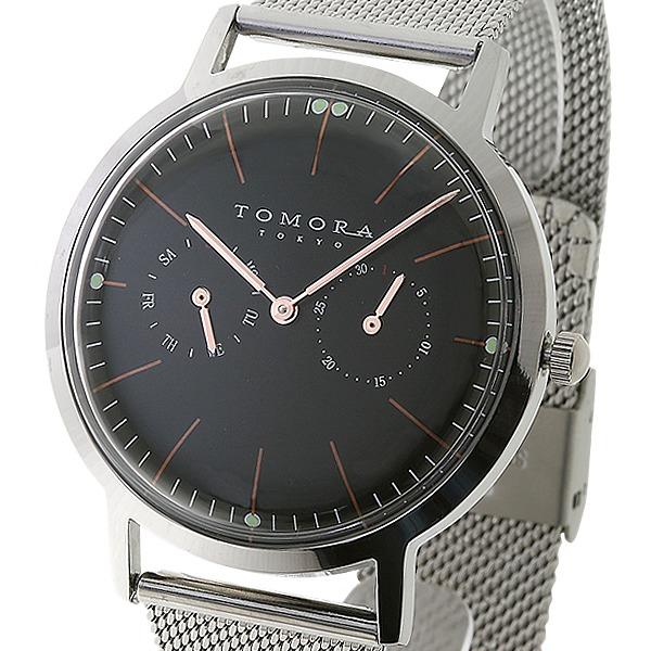 TOMORA TOKYO(トモラトウキョウ) 腕時計 日本製 T-1603-PBKf00