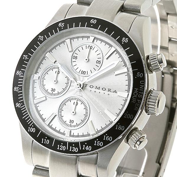 TOMORA TOKYO(トモラトウキョウ) 腕時計 日本製 T-1604-SSWHf00