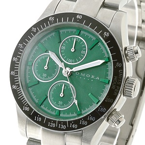 TOMORA TOKYO(トモラトウキョウ) 腕時計 日本製 T-1604-SSGR - 拡大画像