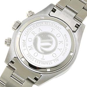 TOMORA TOKYO(トモラトウキョウ) 腕時計 日本製 T-1604-SSGR