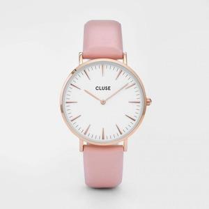 CLUSE(クルース)LA BOHEME ROSE GOLD - 38mm White/Pink h01